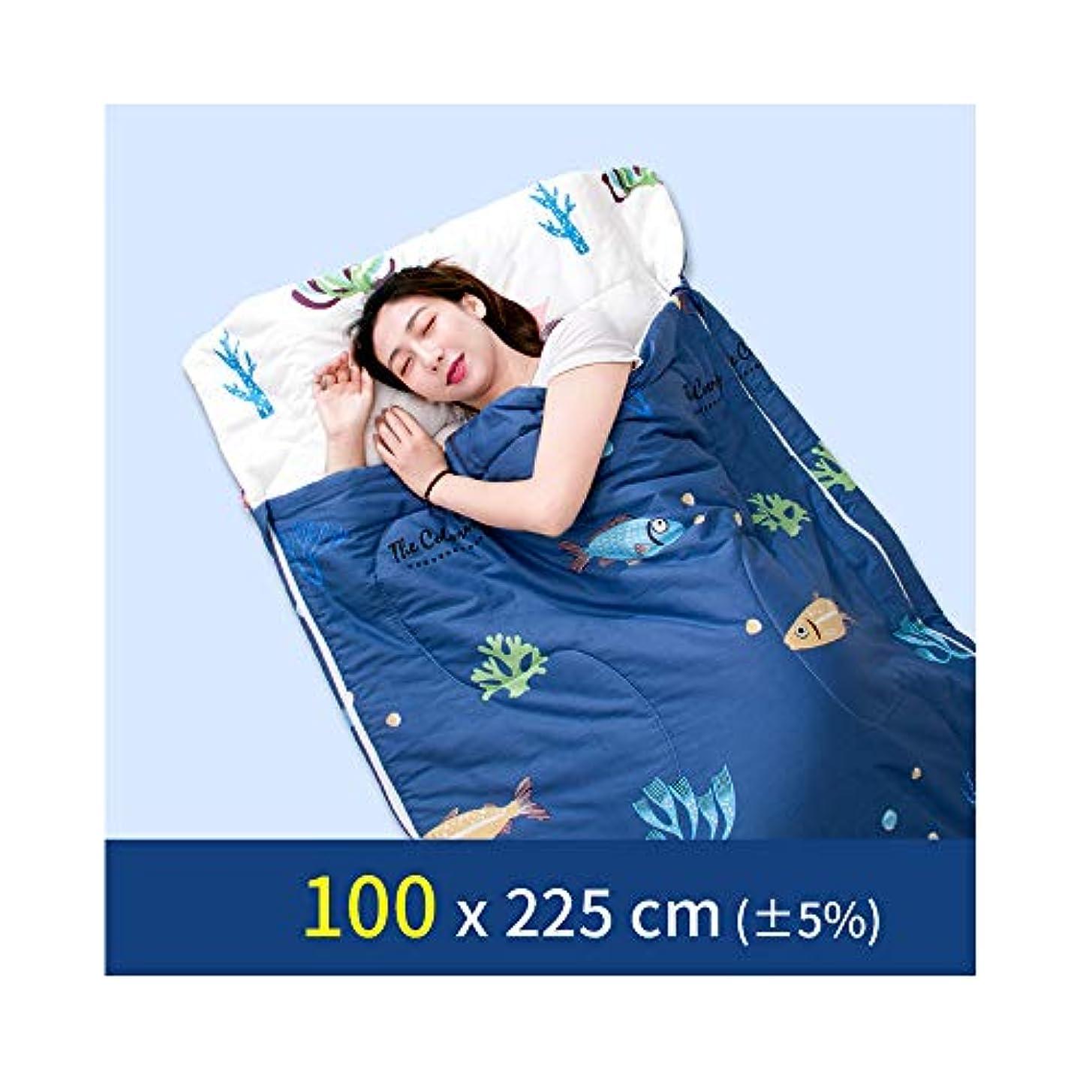 香ばしいスリット消費寝袋大人寝袋冬寝袋寝袋旅行封筒キャンプ寝袋軽量ポータブル屋外機器登山キャンプ防災夜通し