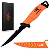 "KastKing Fillet Knife Bait Knife Razor Sharp G4116 German Stainless-Steel Blade 5"" - 9"" Non-Slip Handles Includes Protective Sheath Perfect Fresh Saltwater"