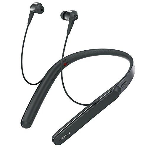 ソニー SONY ワイヤレスノイズキャンセリングイヤホン WI-1000X : ハイレゾ/Bluetooth対応 最大10時間連続再生 カナル型 マイク付き 2017年モデル ブラック WI-1000X B