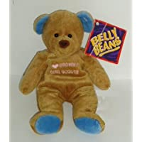 "Belly Beans Bear "" I Love Brownie Girl Scouts """
