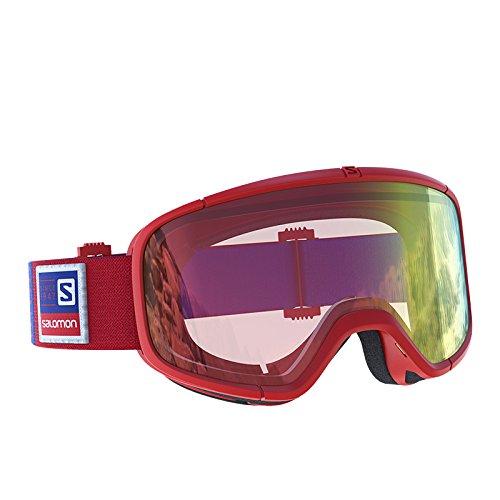 サロモン(SALOMON) スキー スノーボード ゴーグル ユニセックス FOUR SEVEN PHOTO Red/Red L39900400