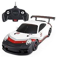 Ycco TMポルシェ911子供と大人のためのワーキングLEDライト、ラジコンスーパーカーのおもちゃに似た有効なリモートコントロールカー男の子のための子供の贈り物ティーンエイジャーの大人1:18