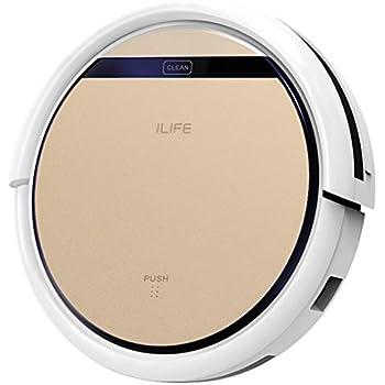 【Amazon.co.jp 限定】ILIFE V5s Pro ロボット掃除機 水拭き 乾拭き両対応 床拭き 静音&強力清掃 ゴールド V5s pro