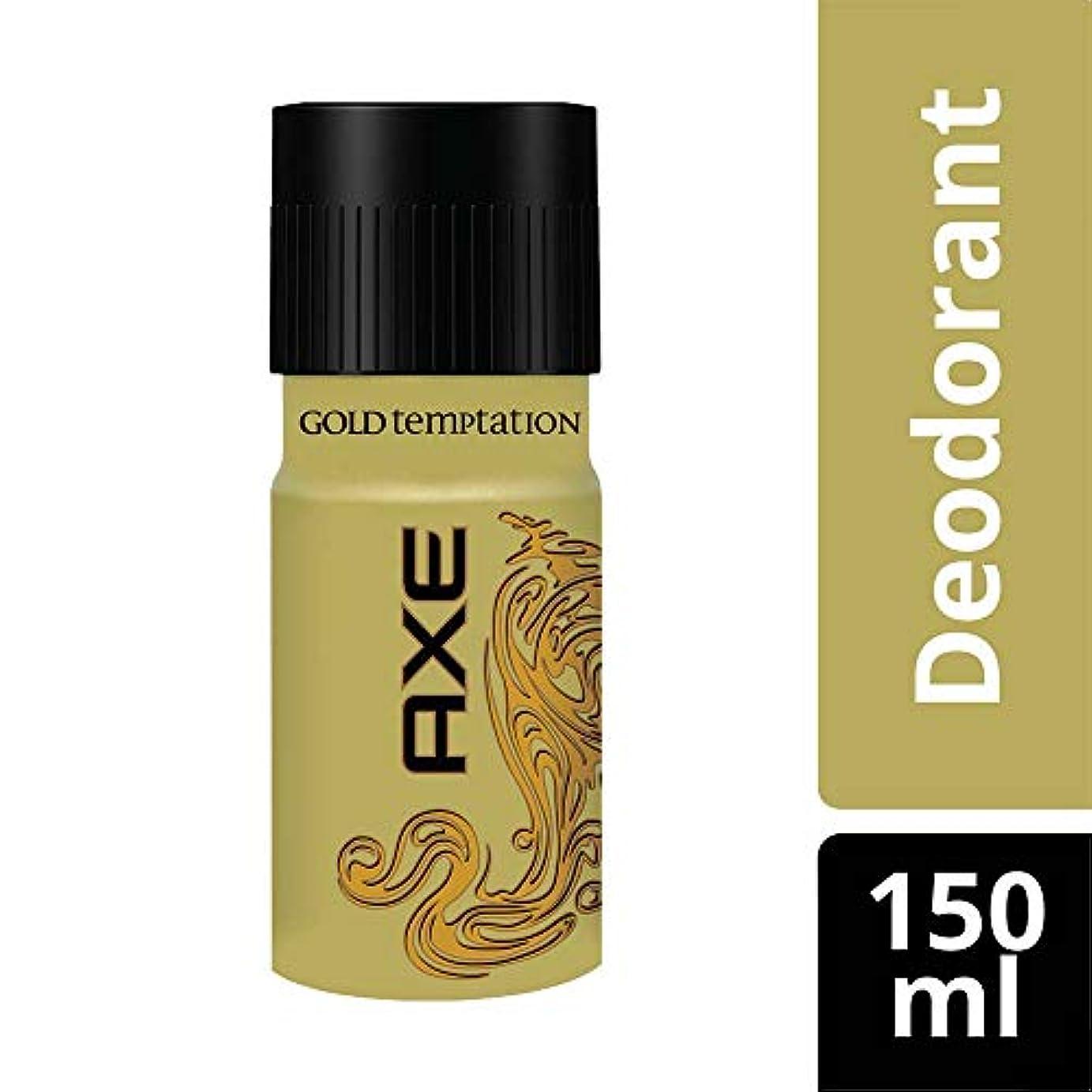 地下室特異な頭AXE Gold Temptation Deodorant, 150 ml