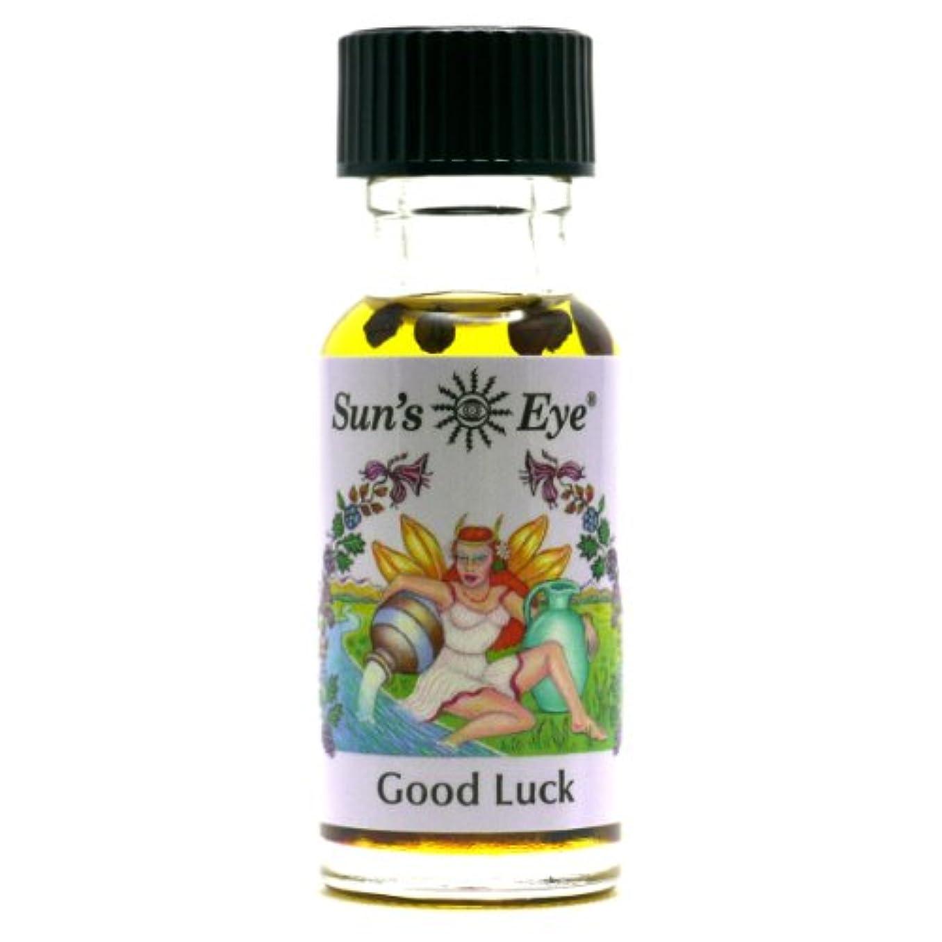 前述の封建【Sun'sEye サンズアイ】Mystic Blends(ミスティックブレンドオイル)Good Luck(グッドラック 幸運)