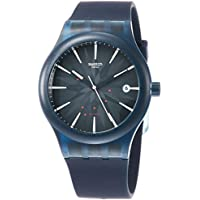 Swatch Sistem Ink Automatic Blue Dial Mens Watch SUTN404
