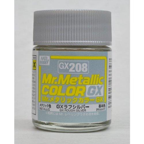 GSIクレオス Mr.メタリックカラー GX208 GXラフシルバー