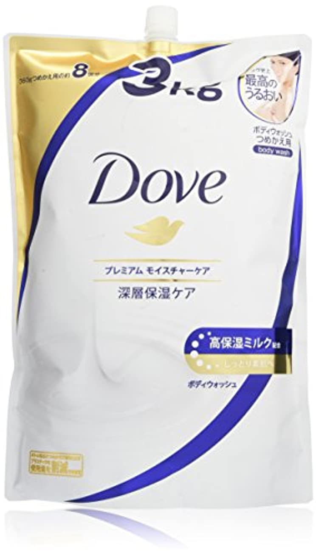 インク中傷シングルDove(ダヴ) Dove ダヴ ボディウォッシュ プレミアム モイスチャーケア つめかえ用 3kg