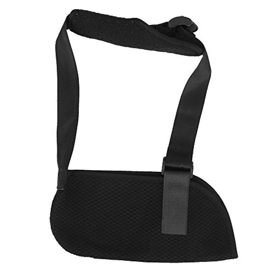 ショルダーイモビライザー、ユニバーサル小児用アームスリング調節可能なアームイモビライザーブレースソフトパッド入りキッズ用スリングストラップユニセックススモール