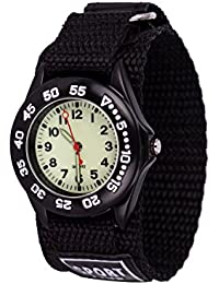 WOLFTEETH 男の子腕時計 スポーツウォッチ クオーツ アナログ 防水 時計 アウトドア ミリタリー 男女兼用 ブラウン 304201