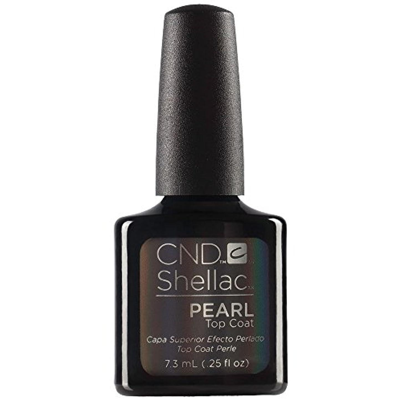 害漫画慢CND Shellac - Pearl Top Coat - 7.3 mL / 0.25 oz