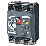 Panasonic 漏電ブレーカ BJW3303 BJW-30型 3P3E OC付 30A 30mA(モータ保護兼用)