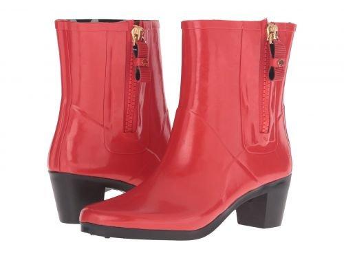 Kate Spade New York(ケイト・スペード) レディース 女性用 シューズ 靴 ブーツ レインブーツ Penny - Red Shiny Rubber 5 M [並行輸入品]