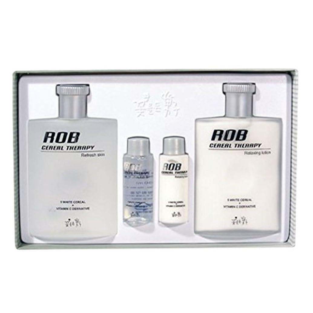 交換鹿アナリストロブ?シリアルセラピースキン(160+30ml)ローション(160+30ml)、男性用化粧品、ROB Cereal Therapy Skin(160+30ml) Lotion(160+30ml) Men's Cosmetics [並行輸入品]