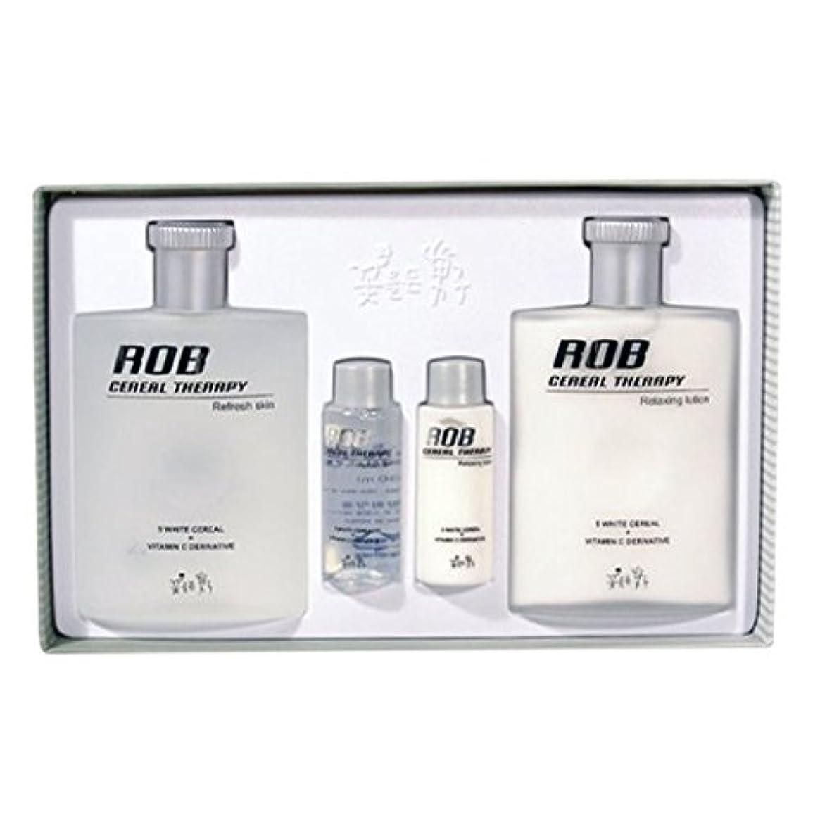 ヒゲコイルボートロブ?シリアルセラピースキン(160+30ml)ローション(160+30ml)、男性用化粧品、ROB Cereal Therapy Skin(160+30ml) Lotion(160+30ml) Men's Cosmetics...