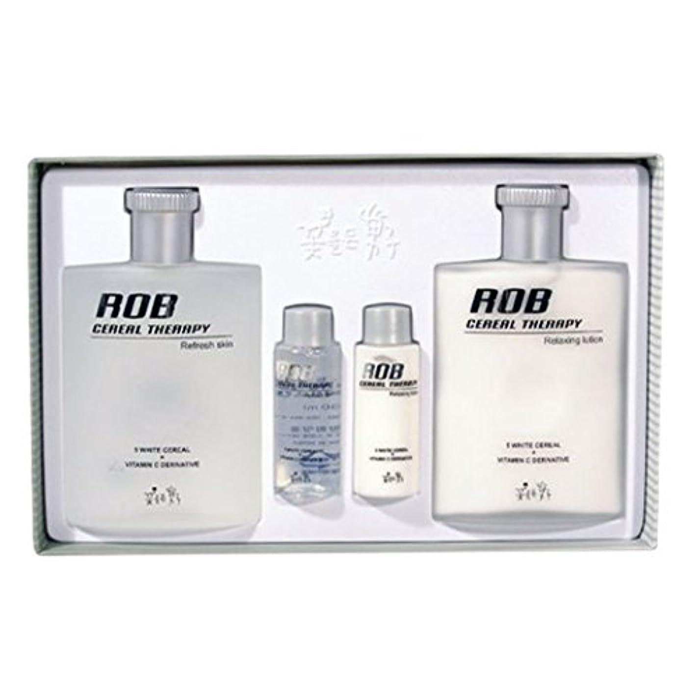 現れるスコアでるロブ?シリアルセラピースキン(160+30ml)ローション(160+30ml)、男性用化粧品、ROB Cereal Therapy Skin(160+30ml) Lotion(160+30ml) Men's Cosmetics [並行輸入品]