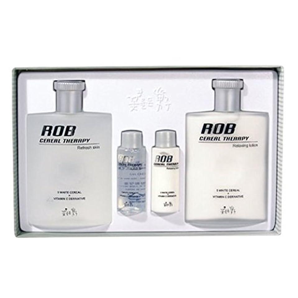 マンハッタン予測持っているロブ・シリアルセラピースキン(160+30ml)ローション(160+30ml)、男性用化粧品、ROB Cereal Therapy Skin(160+30ml) Lotion(160+30ml) Men's Cosmetics [並行輸入品]