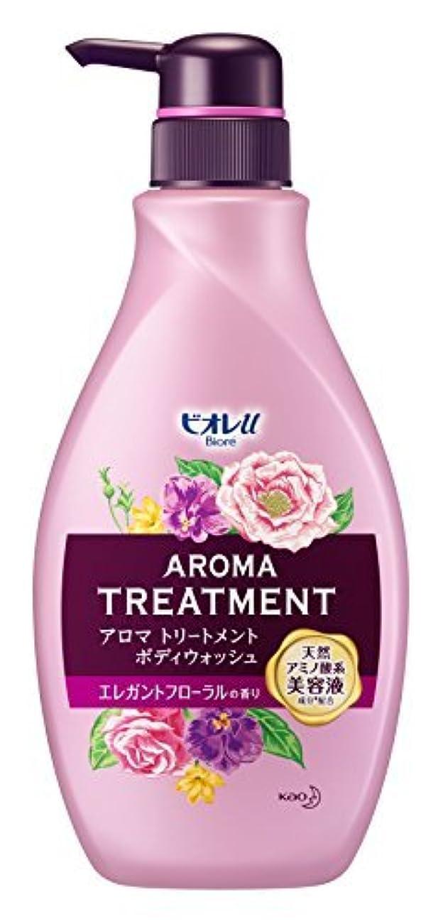 平野すみません後退するビオレu アロマ トリートメント ボディウォッシュエレガントフローラルの香り ポンプ 480ml Japan