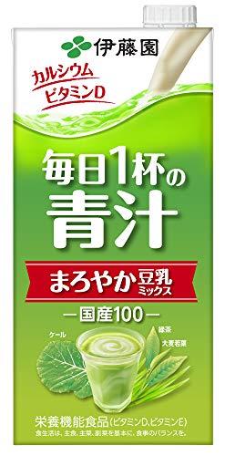 伊藤園 毎日一杯の青汁 1000ml 1セット 12本