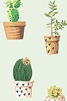 Bullet Journal Cactui / Cactus Plants Notebook Dotted Journal: 120 Paged, Bullet Journal, Dot Grid Notebook, 6 X 9 (15.2 X 22.9 CM)