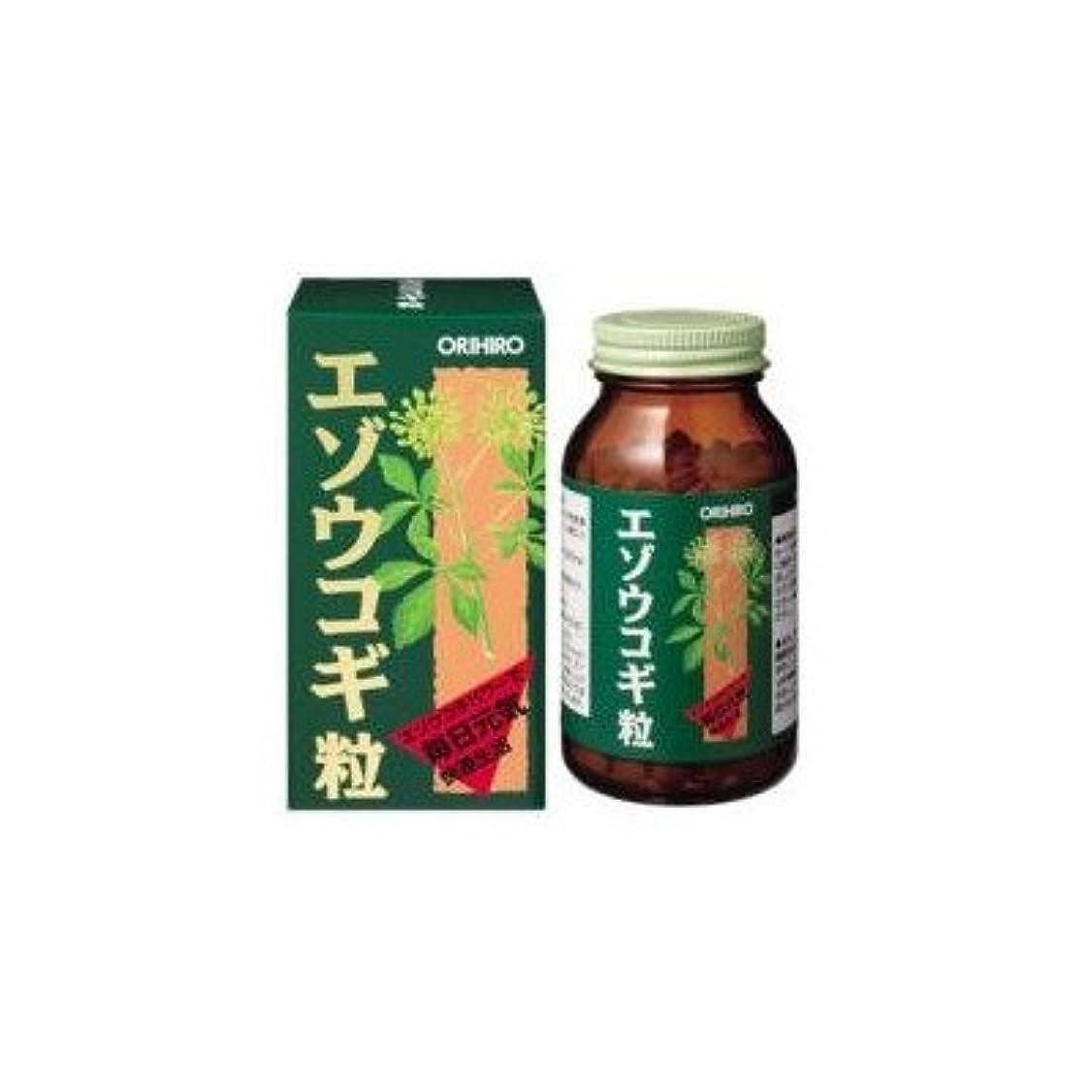 阻害する代数ダイエット60209125 オリヒロ エゾウコギ粒 エゾウコギパワーで毎日元気 快適生活
