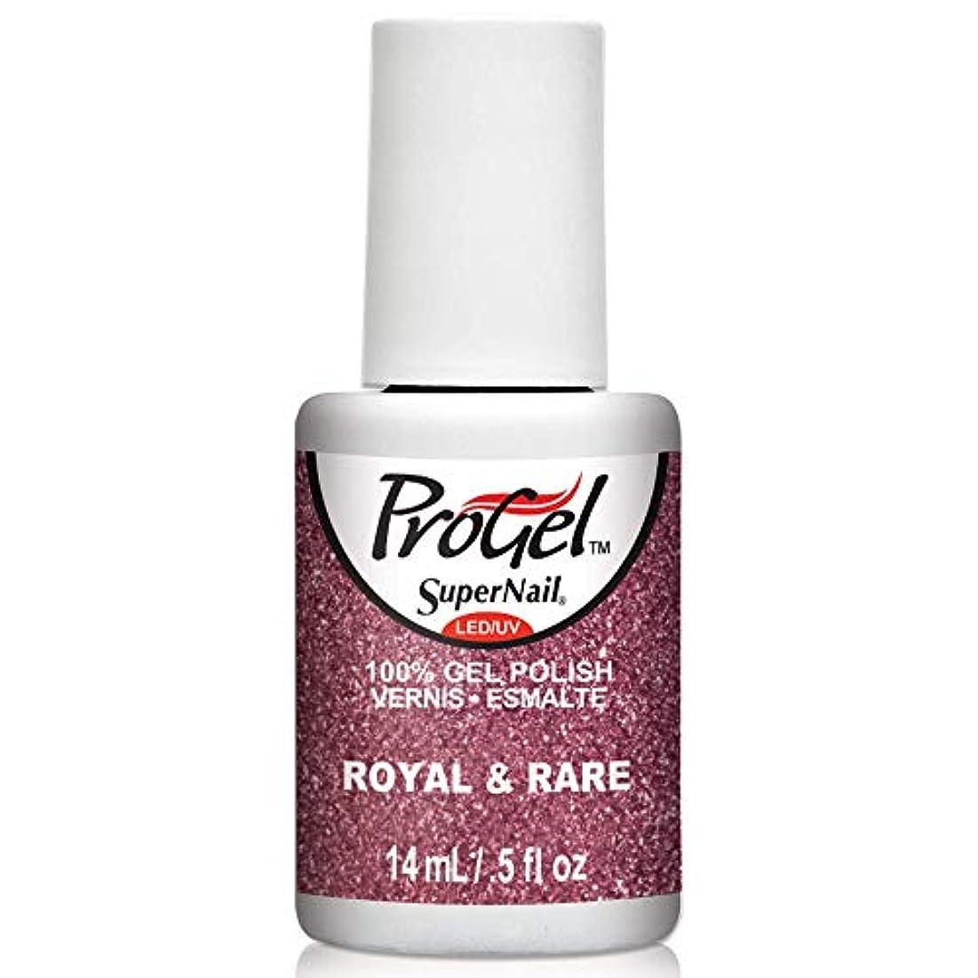 ボイコット事務所戦うSuperNail ProGel Gel Polish - Royal & Rare - 0.5oz / 14ml