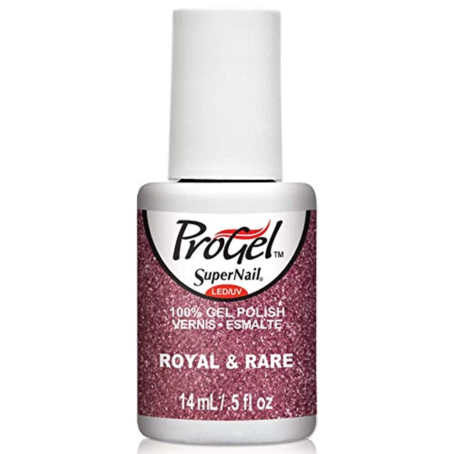 マサッチョ眩惑するエコーSuperNail ProGel Gel Polish - Royal & Rare - 0.5oz / 14ml