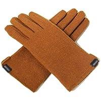 手袋、フェイクウールプラスベルベットウォームタッチスクリーン,B