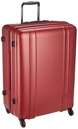 [シフレ] ジッパーハードスーツケース 超軽量 ゼログラ ZEROGRA ZER2088 66cm 保証付 105L 66cm 3.6kg ZER2088-66 マットワイン マットワイン