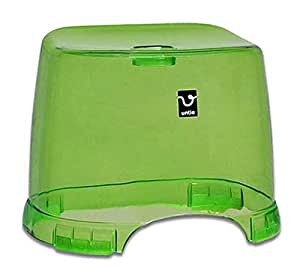 シンカテック 角型 風呂椅子 HK アンティクリスタル グリーン