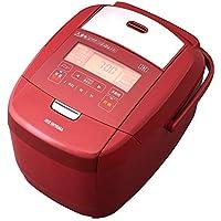 アイリスオーヤマ IH炊飯器 5.5合 レッド IH式 炊飯器 銘柄炊き分け機能 極厚火釜 玄米 赤 デザイン RC-IH50-R