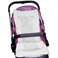 Baby Doll Bedding Stroller Covers, White by BabyDoll Bedding [並行輸入品]