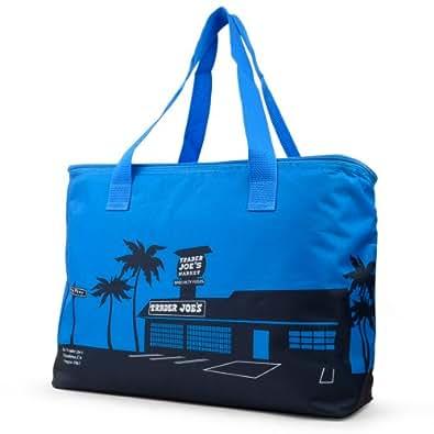 TRADER JOES Large Insulated Bag トレーダー・ジョーズ 保冷・保温エコバッグ ブルー