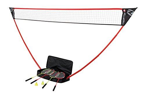 [해외]Zume Games OD0006W The Portable Instant Badminton Set/Zume Games OD0006W The Portable Instant Badminton Set