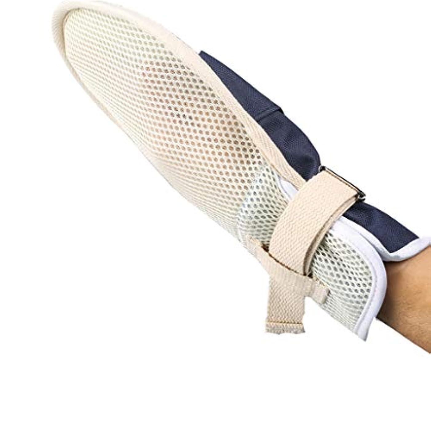 扱うオーバードロー疾患医療用拘束手袋 - Ospital医療用拘束手袋、予防患者の自己傷害