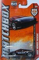 2013 Matchbox (マッチボックス) - MBX Heroic Rescue - Lamborghini (ランボルギーニ) Gallardo LP 560-4 Police ミニカー ダイキャスト 車 自動車 ミニチュア 模型 (並行輸入)