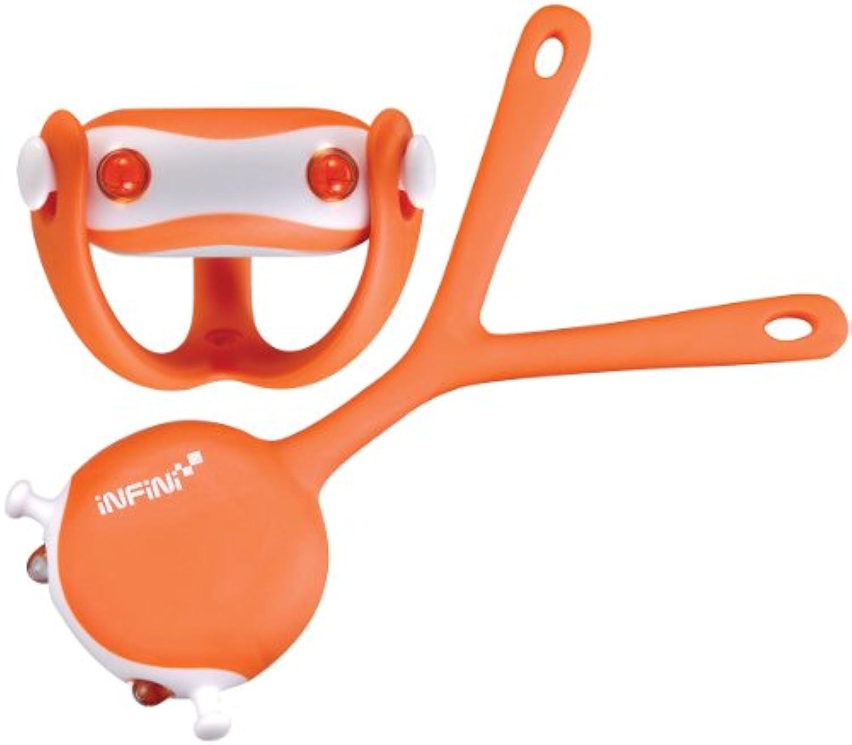 Infini Wukong avant en silicone clair Orange Orange taille unique