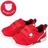 [しまじろう]E1靴キッズ シンプル (レッド, 16.0cm)