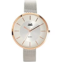 JAG Women's J2075A Year-Round Analog Quartz Silver Watch