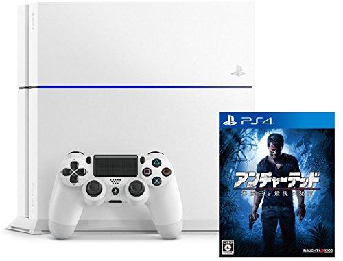 PlayStation 4 グレイシャーホワイト (CUH-1200AB02)+アンチャーテッド 海賊王と最後の秘宝(通常版)