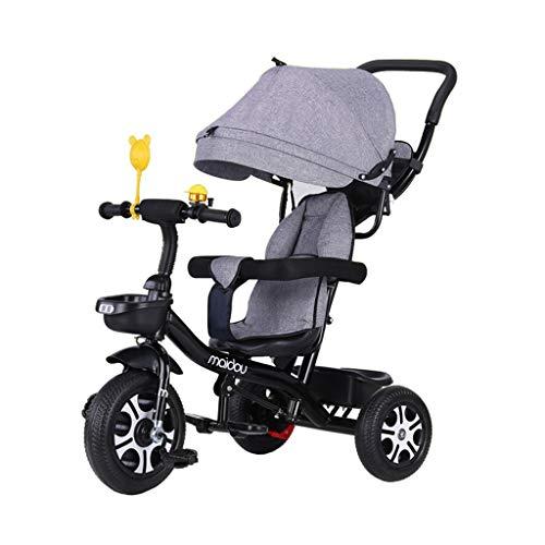 1-3-6歳の子供用3輪自転車(男の子/女の子用)赤ちゃん用...