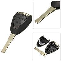3 bnt リモート fob キー ケース シェル fob ブレード用ポルシェ/カイエン 996 911 ボクスター