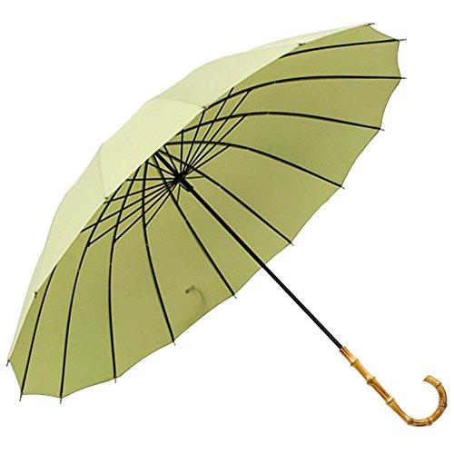 KIZAWA 長傘 雨傘 レディース メンズ 16本 伝統 ...