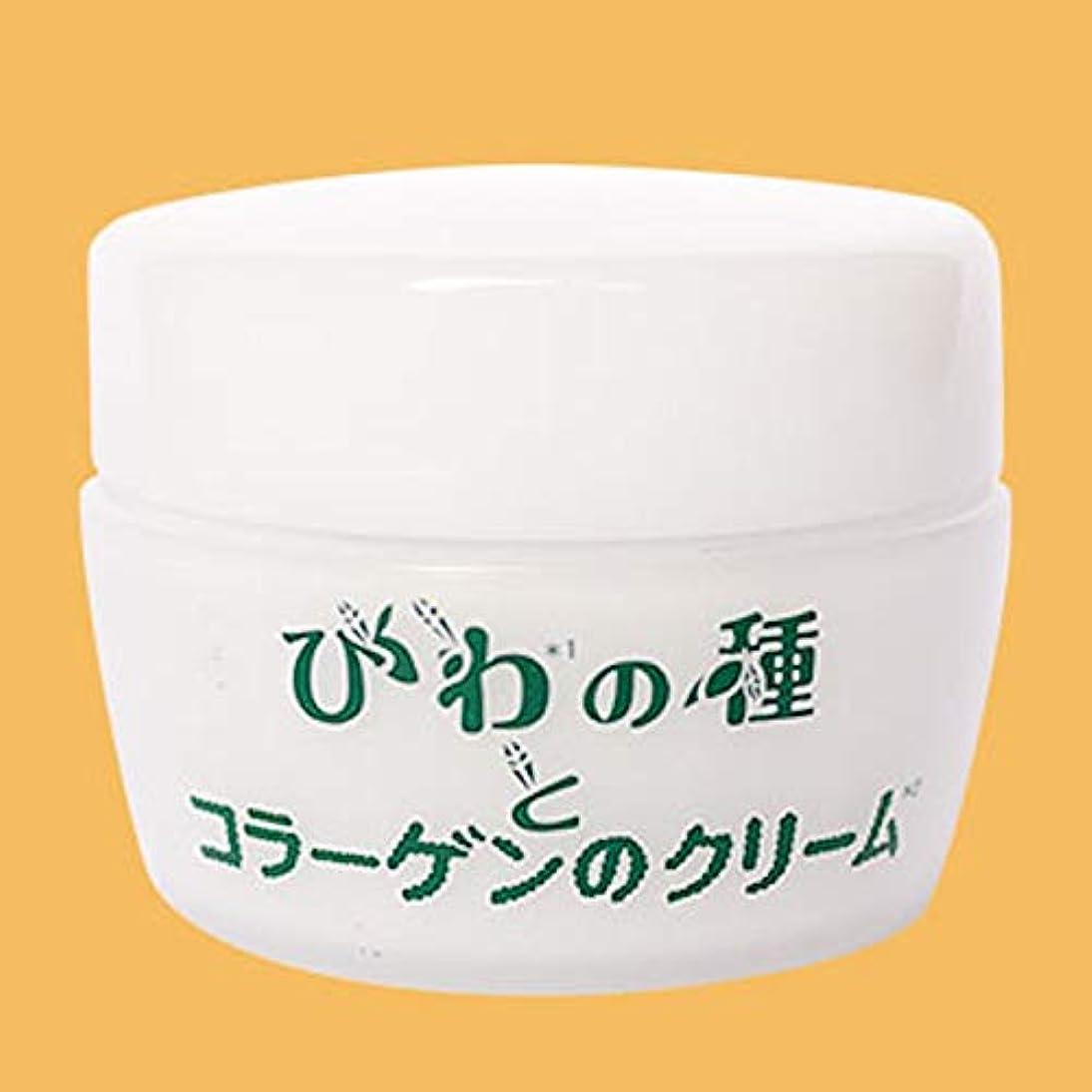 入来屋 びわの種とコラーゲンのクリーム 50g