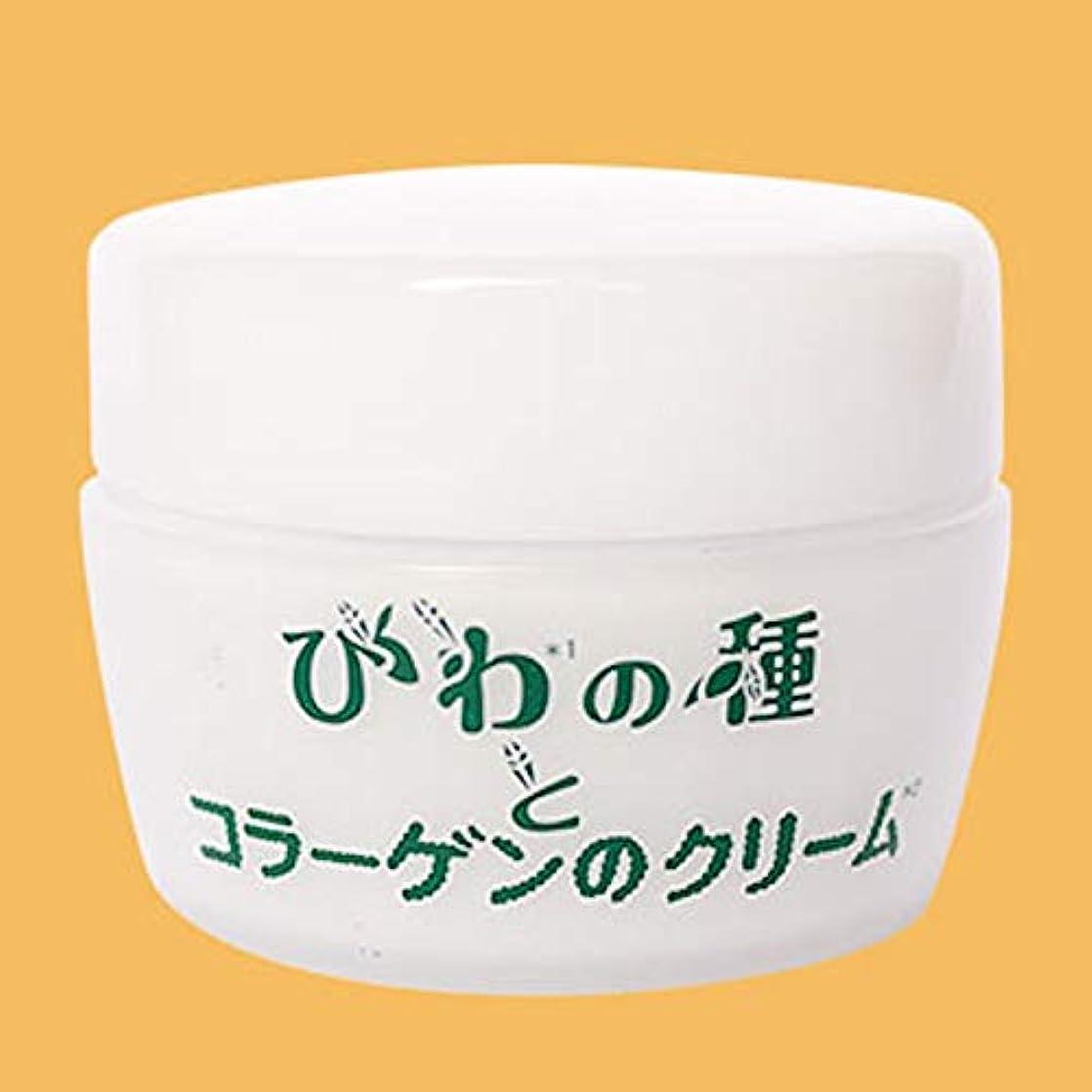収容する誘惑ステープル入来屋 びわの種とコラーゲンのクリーム 50g