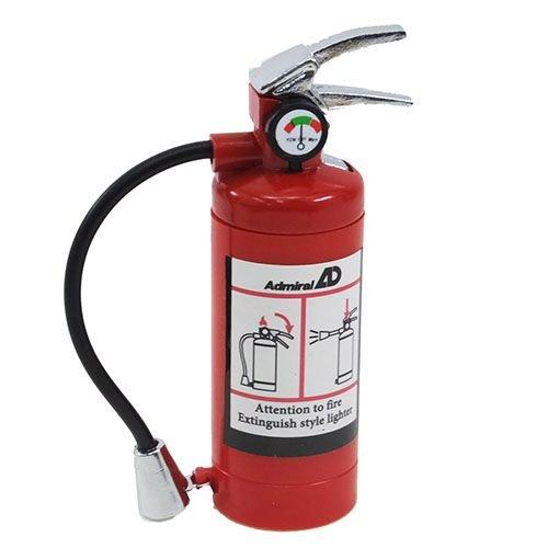 アドミラル産業 ガスライター 消火器ライター 充填式 LED...