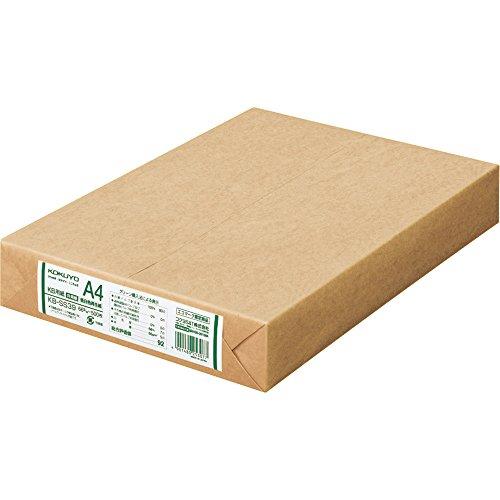 コクヨ KB用紙 低白色再生紙 A4 500枚 KB-SS39