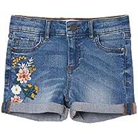 FatFace Girls Embroidered Denim Shorts