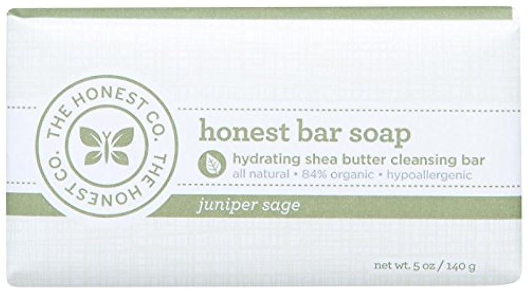 条件付き環境悔い改めHonest Bar Soap - Juniper Sage - 5 oz by The Honest Company