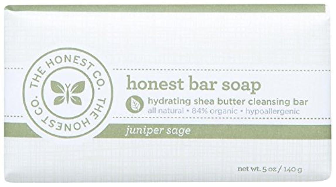 司教脊椎拒否Honest Bar Soap - Juniper Sage - 5 oz by The Honest Company